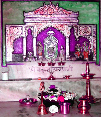 Badrikashrama  Alter at Vanamali