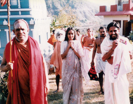 His Holiness Sri Jayendra Saraswati