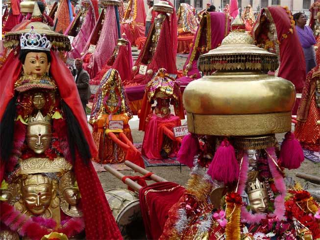 Over 250 Village Devatas gather for Shivaratri in Mandi