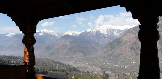 Naggar Castle View